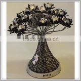 fashion vase table lamp hot style Fancy Home Decorative Aluminum wire table lamp
