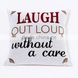 PLUS Wholesale Comfortable 100% cotton printed sofa Cushion Seat Cushion and cushion cover