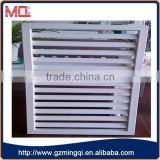 High quality Australian standard fixed pvc louver windows for house