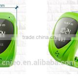 wrist watch wearable child tracking bracelets with SOS panic button, GPS+LBS, android and iOS app and long standby time