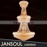 chinese new custom empire luxury church hotel crystal chandelier pendant lights chandeliers