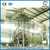 Kaolin powder production line with ball mill and classifier with higher capacity and lower energy consumption