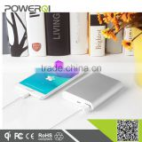 QC2.0 Portable 10000mah 20000mah li-polymer battery power bank charger with QC2.0 certificate,qualcomm quick charge technology