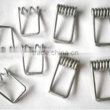 Manufacturer wire form type stainless steel lock spring pin