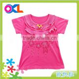 Super quality great material professional cotton baby shirts