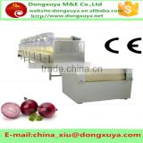 Professional continuous wild chrysanthemum flower Microwave dryer for drying rose petals