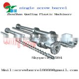 the best venting screw barrel for recycled plastic pelletizing/exhausting screw barrel/plastic & rubber machinery parts
