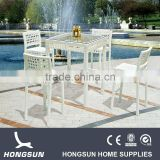 White rattan high bar wholesale italian furniture                                                                         Quality Choice
