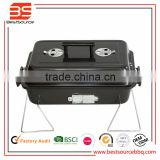 Stainless Steel Charcoal Spit Roaster Rotisserie BBQ Grill Easy Carrying Beautiful Grill