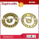 Table top gas stove brass burner caps / gas cooker burner cap                                                                                                         Supplier's Choice