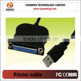USB to serial DB25Pin Parallel Port printer Cable Adapter computer cable