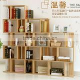 Free combination Children bookcase Creative partition