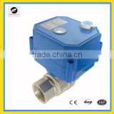 9-24volt 220v 230v electric motor operated water valve with manual override function for drinking water, water purify