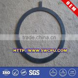 Molded rubber seal for hydraulic jack