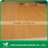 Cabinet laminated board-chinese Linyi best quality melamine paper overlaid plywood manufacture for furniture usage