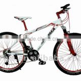 "26"" Hot and popular Steel Frame MTB bicycle Mountain bicycle 21 speed lightweight mountain bicycle china bicycle factory"