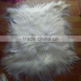 Fashion Long Hair Tibet Lamb Plate Fur Goat Fur Kidassia Fur Plate