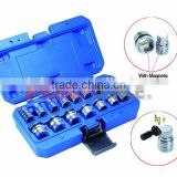 Magnetic Oil Drain And Socket-15 pcs, Lubricating and Oil Filter Tool of Auto Repair Tools