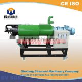 China Chenwei made Cow/chicken/poultry/animal manure drying machine/pig dung dewater machine