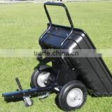 Poly Tipping Ride On Mower Trailer & Wheelbarrow                                                                         Quality Choice