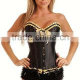 Top Selling black Overbust corset as seen on tv