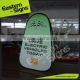 Vertical Pop Up Outdoor Advertising Folding advertising vertical pop up a frame banner for display