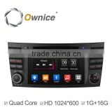 2016 new Ownice C300 quad core car GPS video RADIO for benz E270 E280 E320 E350 support Bluetooth stereo steering wheel control
