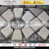 Mosaic manufacturer flower patteren marble border tile EMB827
