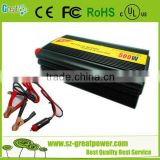 Good quality power inverter dc 12v ac 220v with pure sine wave to power DC electric fans