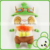 Custom animal toy/crochet knitted hats animal/best made toys stuffed animals from china/stuffed animal teemo