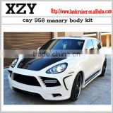 body kit for 2011-2014 cayy 958 MS style body kit with carbon fiber