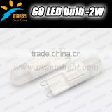 2W G9 LED Lamp Epistar LED Corn Light G9 socket 220V Replace Halogen Lamp for LED Crystal Lamps Candle Corn Bulbs Droplight