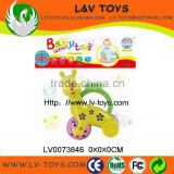 Funny design child toy plastic ABS material cute baby bell rattle made in China with EN71 LV0073846