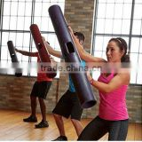Rubber ViPR fitness weights training