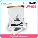 Convenient and practical, durable classic hot LW-006 skin scrubber ultrasonic peeling beauty machine
