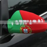 Wholesale 2016 cheapeast promotional car wing mirror cover flag/Car mirror cover flag for 2016 european cup