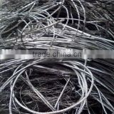 factory supply clean aluminum scrap wire