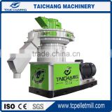 ring die pelletizers machinery for sorghum,bamboo pellet Mill machine from taichang with capacity 2.5-3t/h