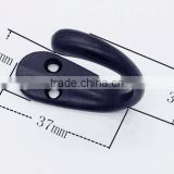 Metal towel hanger/metal hooks for clothes hanger/Zinc alloy hanger