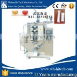 Free Shipment By Sea WUHAN Automatic Ice Pop Liquid Packing Machine