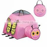 Hot selling lovely butterfly tent kids indoor play tent
