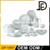 New goods crockery sets fine porcelain china dinnerware set for restaurant
