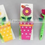 flower dish brush in new design