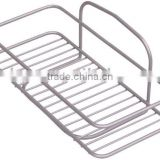 single tier bath rack