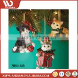 Gift Craft 2017 Trending Products Hanging Decoration Items Polyresin Personalized Christmas Ornaments