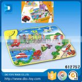 china top ten selling products removable and washable QQ bear musical cheap baby play mat funny for play