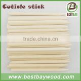 A grade nail clean tool wood cuticle stick