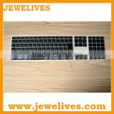 Janpan lauguage silicone keyboard cover for desktop computer