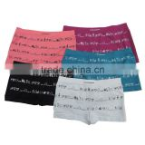 Wholesale polyamide seamless boxers shorts cute young girls' underwear