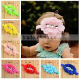 Flowers Headbands Elastic Head Bands Baby/Kid's Hairbands Baby Hair Accessoriess